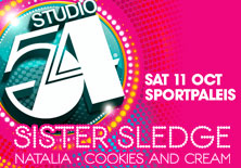 Studio 54 - The Legendary Party | Sportpaleis / Lotto Arena - 11/10/2014