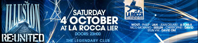 Illusion Re:united | La Rocca - 04/10/2014