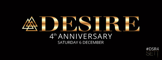 SETT PRESENTS  4 YEARS DESIRE | Sett Club - 06/12/2014