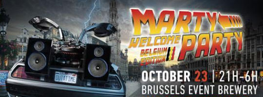 Marty Welcome Party - Belgium | Brussels Event Brewery (BEB) - 23/10/2015