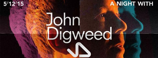 A Night With John Digweed | Vooruit - 05/12/2015