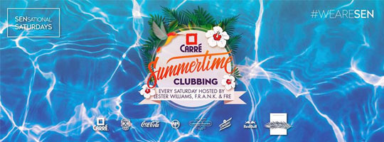 SENsational Summertime Clubbing | Carré - 30/07/2016