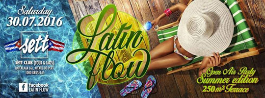 LATIN FLOW Open Air  | Sett Club - 30/07/2016