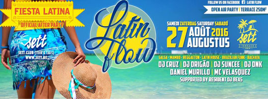 LATIN FLOW Official Afterparty Fiesta Latina | Sett Club - 27/08/2016