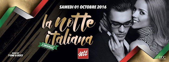 DDC Presents La NOTTE Italiana | Sett Club - 01/10/2016
