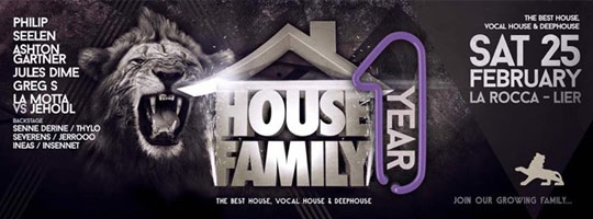 1 Year House Family | La Rocca - 25/02/2017