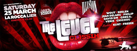 Illusion Level Classix | La Rocca - 25/03/2017
