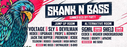 Skank n' Bass - Summer Kick Off Party | IKON - 30/06/2017