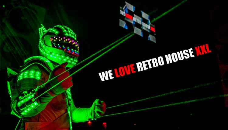 We Love Retro House XXL