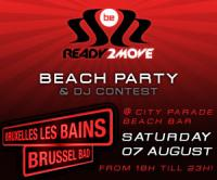 Ready2move Beach Party@Bruxelles Les Bains