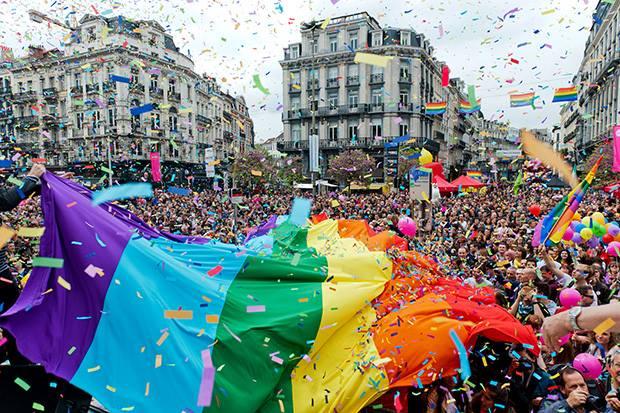 BRUXELLES GAY PRIDE MUSIC